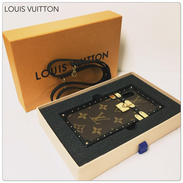 iphonex ケース ハイブランド | LOUIS VUITTON - 【美品2019年製】LOUIS VUITTON アイトランクiPhoneX・Xsの通販 by My Collection's shop|ルイヴィトンならラクマ