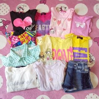 ロニィ(RONI)の即購入OK♡女の子夏物まとめ売り12点 120、130(Tシャツ/カットソー)