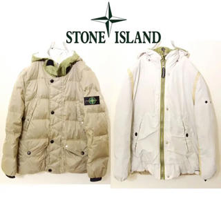 ストーンアイランド(STONE ISLAND)のSTONE ISLAND ダウンジャケット リバーシブル 激レア(ダウンジャケット)