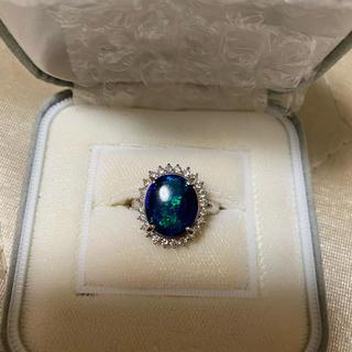 プラチナ900ダイヤモンド付き リング
