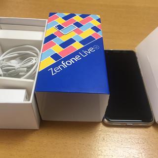 エイスース(ASUS)のZenFone Live(L1) ローズピンク 32 GB SIMフリー(スマートフォン本体)
