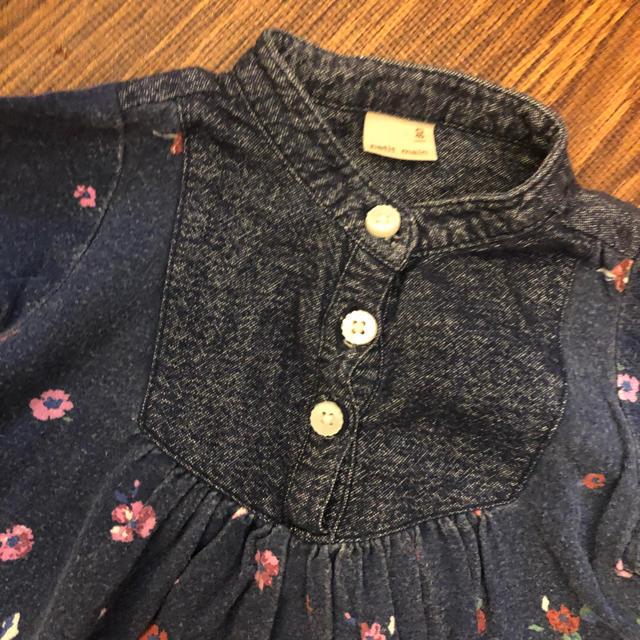 petit main(プティマイン)の♡プティマイン花柄ワンピース♡ キッズ/ベビー/マタニティのベビー服(~85cm)(ワンピース)の商品写真