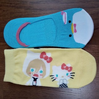 サンリオ(サンリオ)の靴下 2足セット サンリオ しまむら(ソックス)