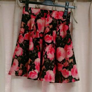 スニープディップ(Sneep Dip)の新品 スニープディップ 花柄スカート(ミニスカート)