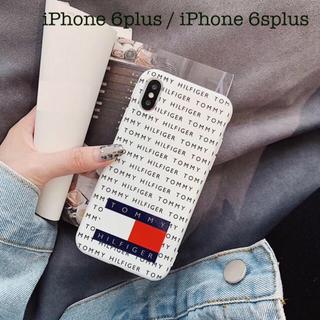 トミーヒルフィガー(TOMMY HILFIGER)のiPhoneケース スマホケース スマートフォンケース スマホカバー ホワイト(iPhoneケース)
