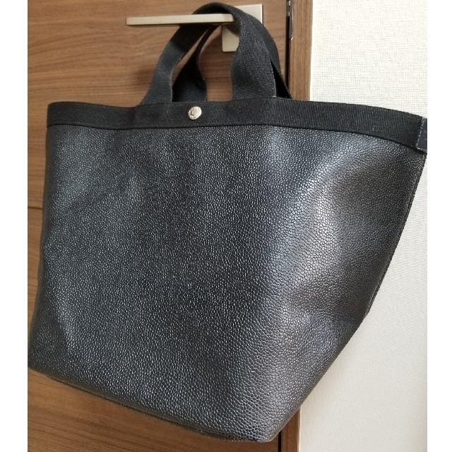 Herve Chapelier(エルベシャプリエ)のエルベシャプリエ 725gp ノワール ダブルハンドル レディースのバッグ(トートバッグ)の商品写真