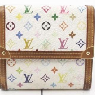 LOUIS VUITTON - Louis Vuitton wホック財布モノグラムマルチカラー