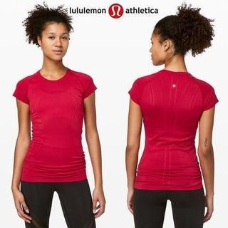 ルルレモン(lululemon)のlululemon未使用サイズ10 SwiftlyTechShortSleeve(Tシャツ(半袖/袖なし))