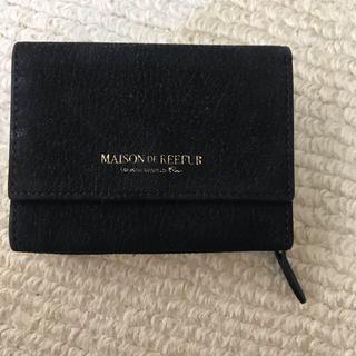 メゾンドリーファー(Maison de Reefur)のメゾンドリーファー 三つ折り 財布(財布)