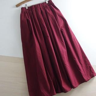 SM2 - 春夏 ●Samansa Mos2 blue● フレアーロングスカート F ♪