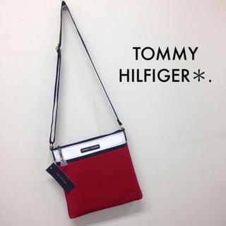 トミーヒルフィガー(TOMMY HILFIGER)の海外で購入!タグ付き新品*TOMMY HILFIGER*トートバッグ(ショルダーバッグ)