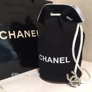 CHANEL - 新品 未使用品 シャネル CHANEL 巾着 ショルダーバッグ