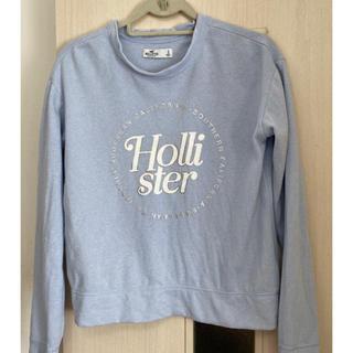 ホリスター(Hollister)のHOLLISTER GALIFORNA Sサイズ トレーナー 水色(トレーナー/スウェット)
