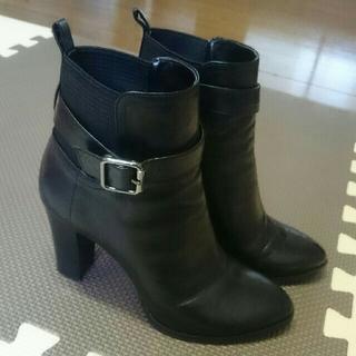 DIANA - ダイアナ サイドゴア ショートブーツ 23.5 ブラック