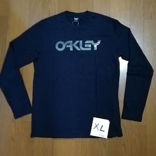 オークリー(Oakley)のOAKLEY サイズXL(US L) 迷彩ロゴロンT 黒XL 未使用タグ付(Tシャツ/カットソー(七分/長袖))