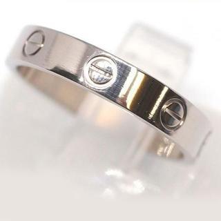 Cartier - 美品 カルティエ ラブリング k18WG 17号 ♯57 4.8g