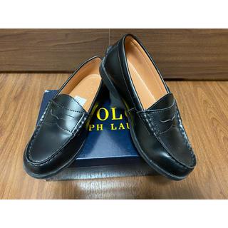 ポロラルフローレン(POLO RALPH LAUREN)の【タイムセール】ポロラルフローレン ローファー 黒(ローファー/革靴)