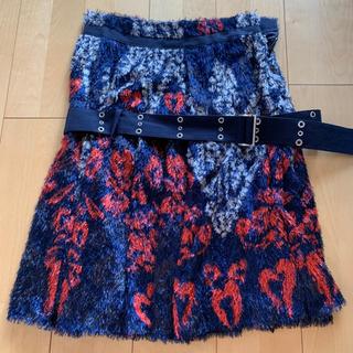 サカイ(sacai)のsacai スカート サイズ2(ひざ丈スカート)