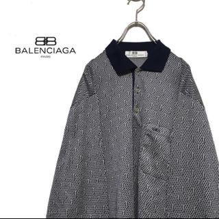 Balenciaga - BALENCIAGA バレンシアガ 90s デザイン ポロシャツ