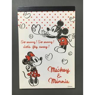ミッキーマウス(ミッキーマウス)のメモ帳(ノート/メモ帳/ふせん)
