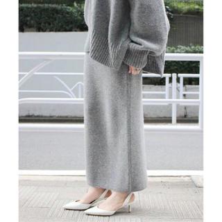 Plage - Plage Slit Knitスカート グレー ニットスカート