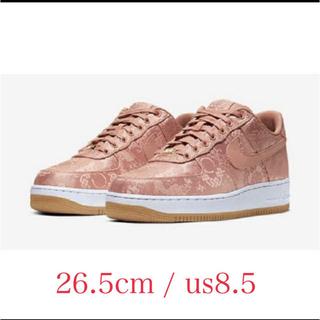 NIKE - clot Nike Air Force1rose pink us8.5
