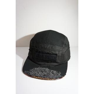 アンダーカバー(UNDERCOVER)のアンダーカバー SCAB ハギ キャップ  解体 帽子  黒1227J▲(キャップ)