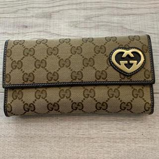 グッチ(Gucci)のGUCCI 長財布 正規品 値下げしました(長財布)