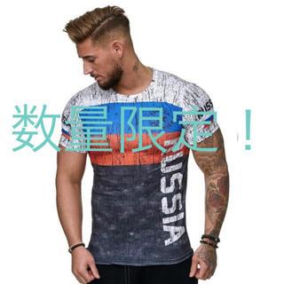 ロシア 3dプリント tシャツ 半袖