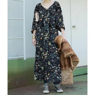TODAYFUL - TODAYFUL Chiffon Flower Dress  花柄ワンピース