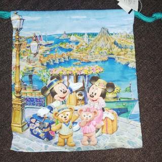 Disney - 新品未使用タグ付き スプリングヴォヤッジ 巾着