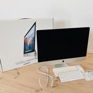 Apple - iMac 2015年モデル 5K MK482J/A [3300] メモリ24GB