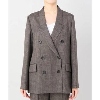 アパルトモンドゥーズィエムクラス(L'Appartement DEUXIEME CLASSE)のアパルトモン lisiere Polyestel W Jacket(テーラードジャケット)