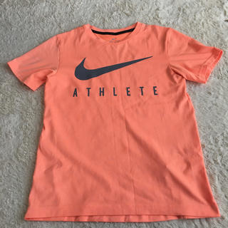 NIKE - NIKE 蛍光オレンジTシャツ