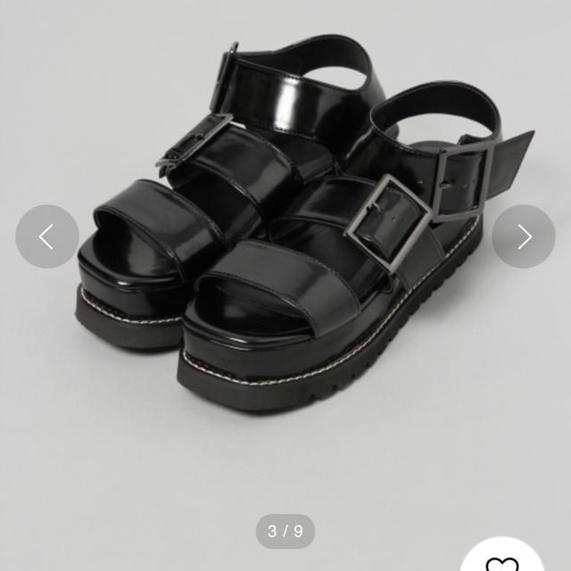JEANASIS(ジーナシス)のJEANASIS サンダル レディースの靴/シューズ(サンダル)の商品写真