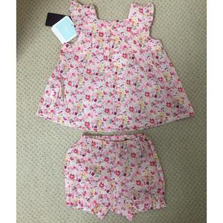 BeBe - べべ♡bebe LIBERTY ベビー服 チュニック ブルマ