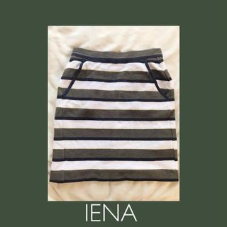 イエナ(IENA)のIENA ボーダー マルチ スカート (ひざ丈スカート)