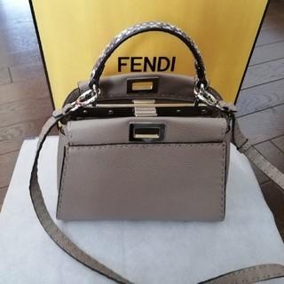 FENDI - FENDI フェンディミニピーカブーセレリア