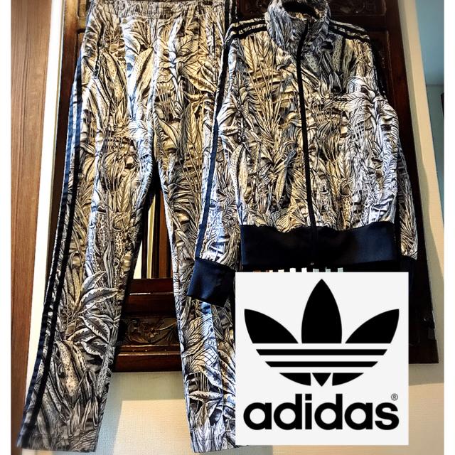 adidas(アディダス)のアディダス ジャージ 花柄 オリジナルス ジャージ ファーム コラボ  ML レディースのジャケット/アウター(ブルゾン)の商品写真