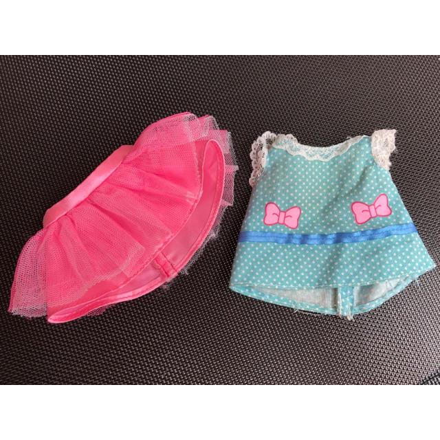 Takara Tomy(タカラトミー)のメルちゃん チュチュ と シャツ 二枚セット キッズ/ベビー/マタニティのおもちゃ(ぬいぐるみ/人形)の商品写真