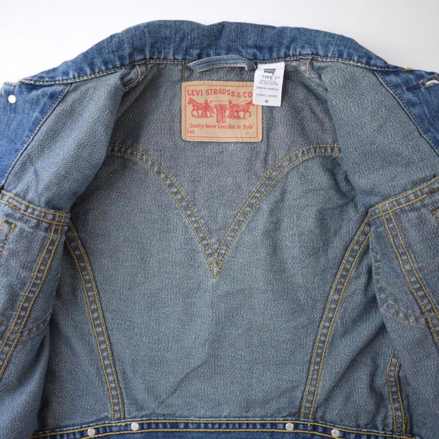 Levi's(リーバイス)の色落ち&雰囲気◎Levi's☺︎ウエスタン風デニムジャケット♡フォロ割-¥200 レディースのジャケット/アウター(Gジャン/デニムジャケット)の商品写真
