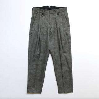 サンシー(SUNSEA)のstein Two Tuck Wide Trousers(スラックス)