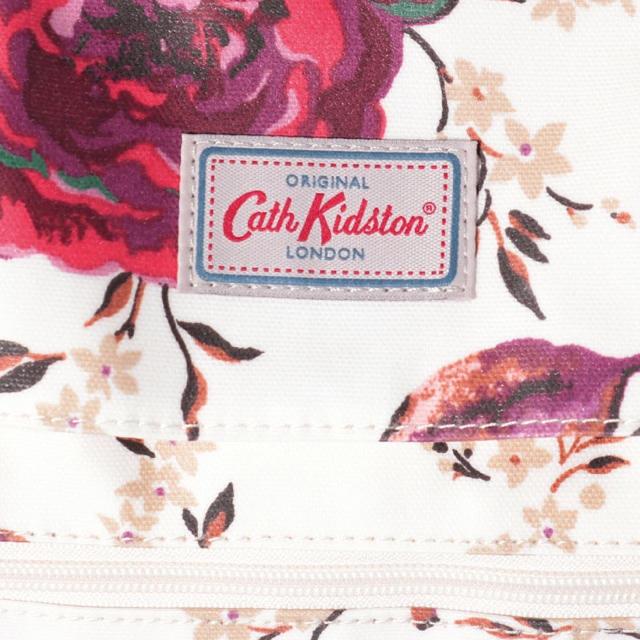 Cath Kidston(キャスキッドソン)の新品 値札付 上品 キャス キッドソン リュックサック ジャガード ローズ レディースのバッグ(リュック/バックパック)の商品写真