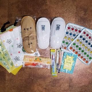 サンリオ(サンリオ)の2月15日までSALE🍀子供 アメニティセット スリッパ 歯ブラシ(旅行用品)
