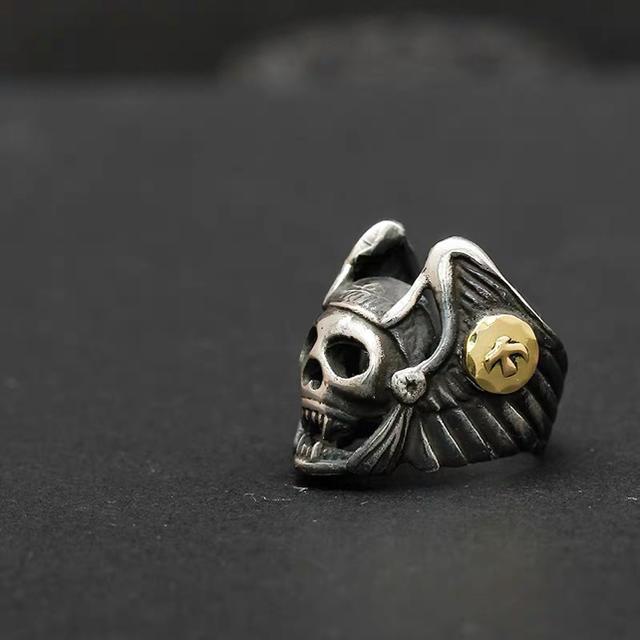 goro's(ゴローズ)のヘルズリング OLD加工 メンズのアクセサリー(リング(指輪))の商品写真