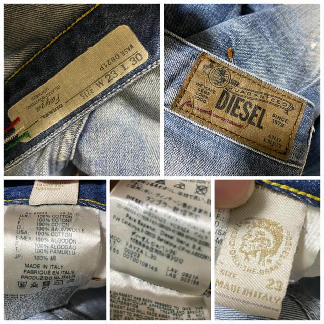 DIESEL(ディーゼル)の定価42900円 DIESEL Japan Limited ボーイフレンドデニム レディースのパンツ(デニム/ジーンズ)の商品写真