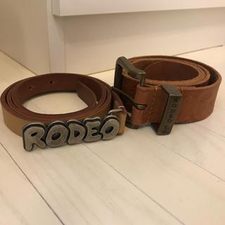 ロデオクラウンズ(RODEO CROWNS)のロデオ⭐︎ベルト(ベルト)