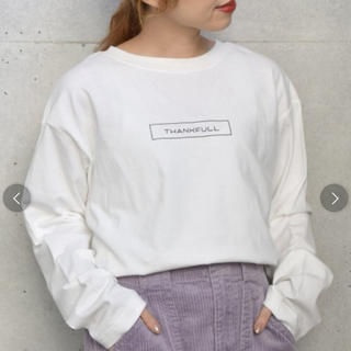 w closet - シンプルロゴプリントロンTee 【wcloset】