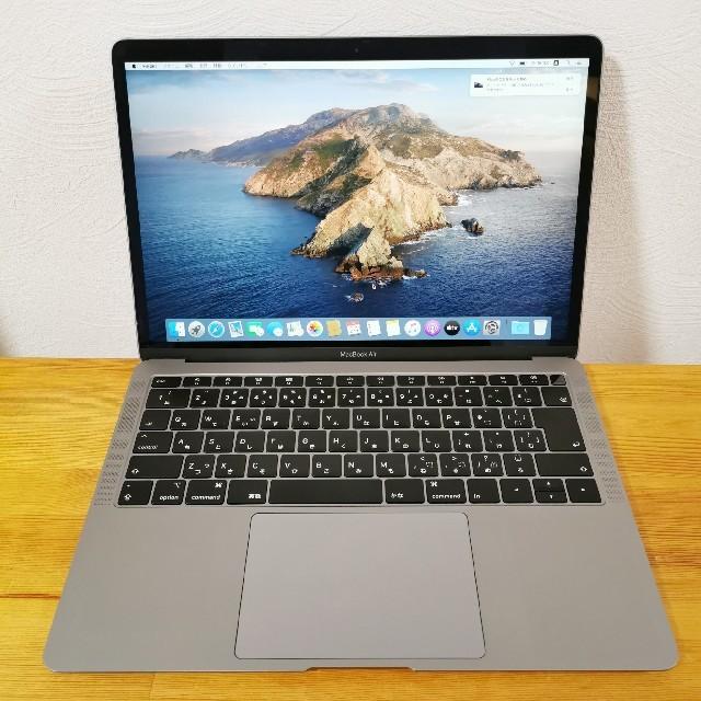 Apple(アップル)のmacbook air MVFJ/A 最新モデル スマホ/家電/カメラのPC/タブレット(ノートPC)の商品写真
