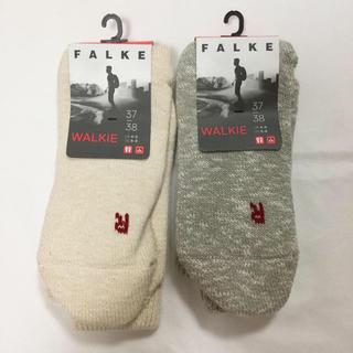 BEAMS - falke ソックス 37/38 靴下 ファルケ ビショップ WALKIE